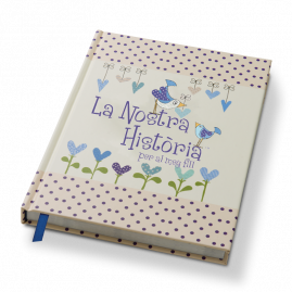 La Nostra Història (Catalan) per al meu fill memory book