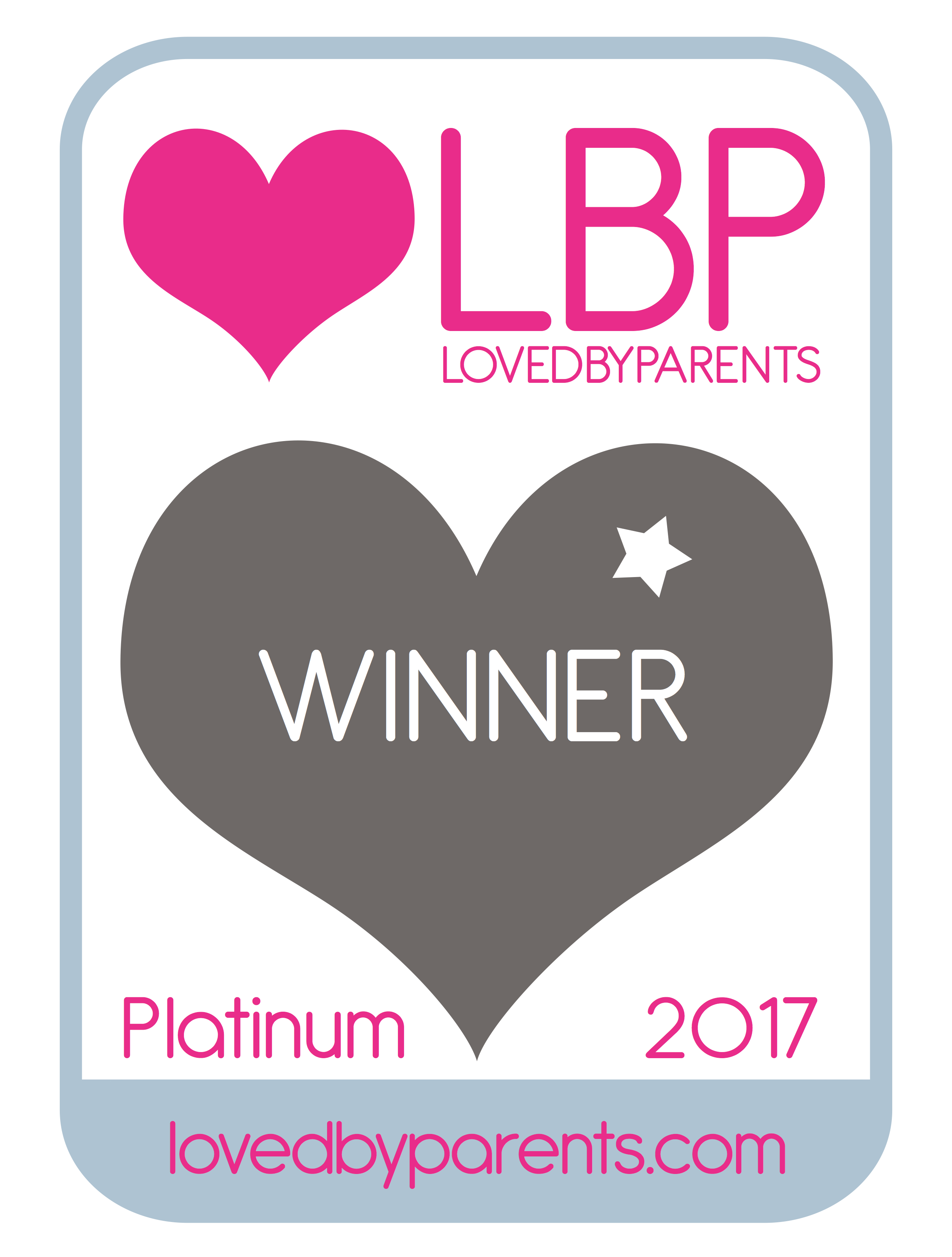 Loved by Parents Platinum 2017