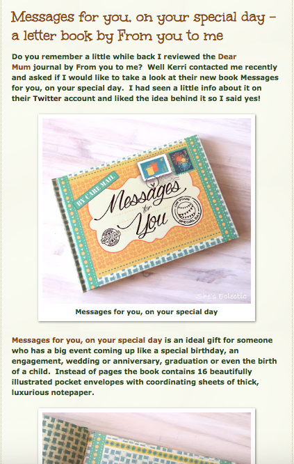 Messages for you on your special day